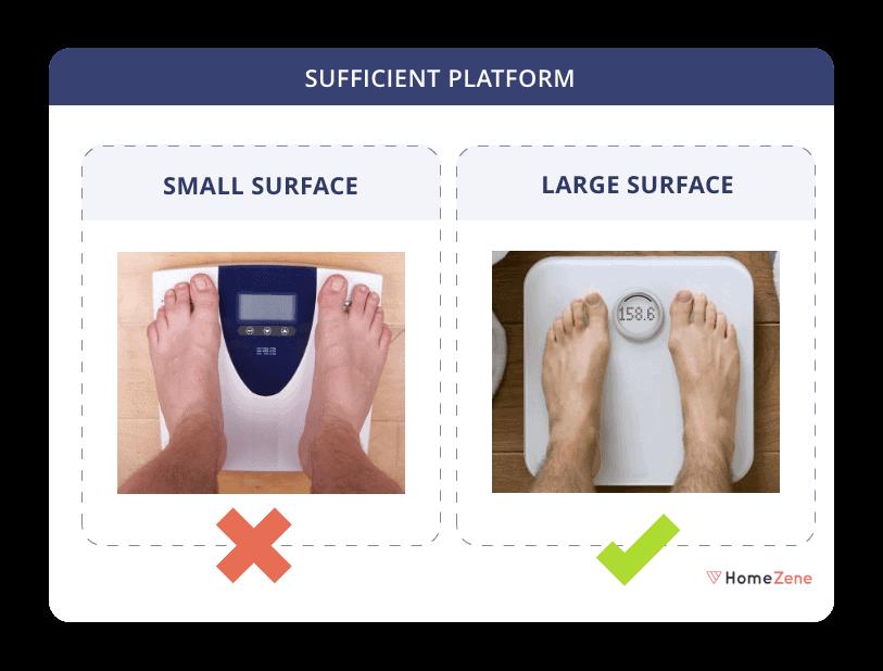 Weighing Machine Sufficient Platform