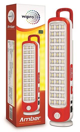 Wipro Amber Rechargeable Emergency LED Lantern