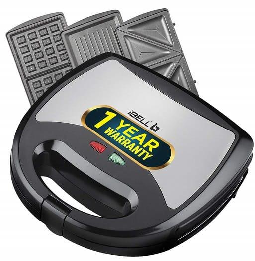 iBell 750 Watt Waffle Maker