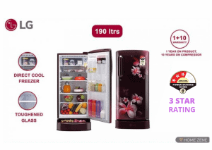 LG 190l refrigerator