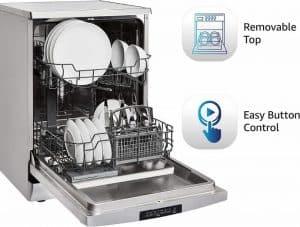 Amazon basics dishwasher