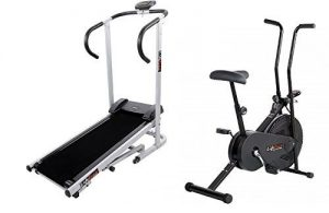 Body Maxx Lifeline Fitness Combo Manual Treadmill