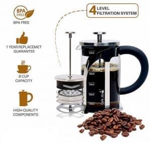 Cafe JEI French Press Coffee