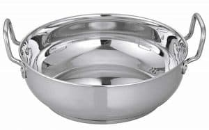 Camro Induction Stainless Steel kadhai