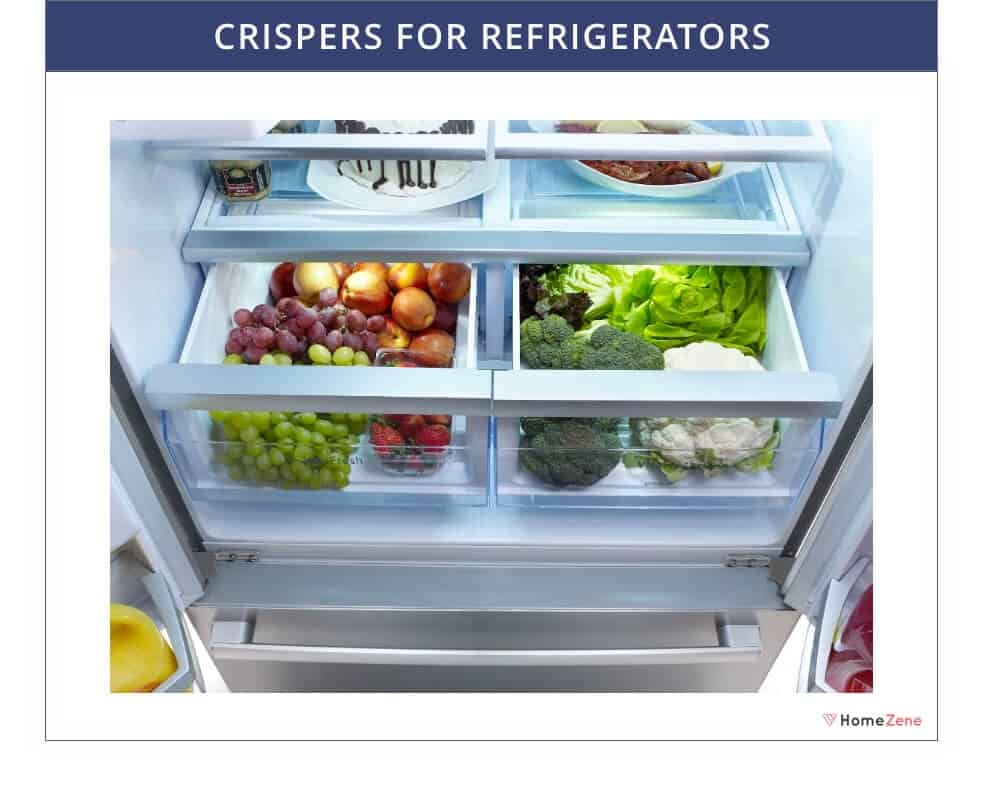 Crispers for refrigerator