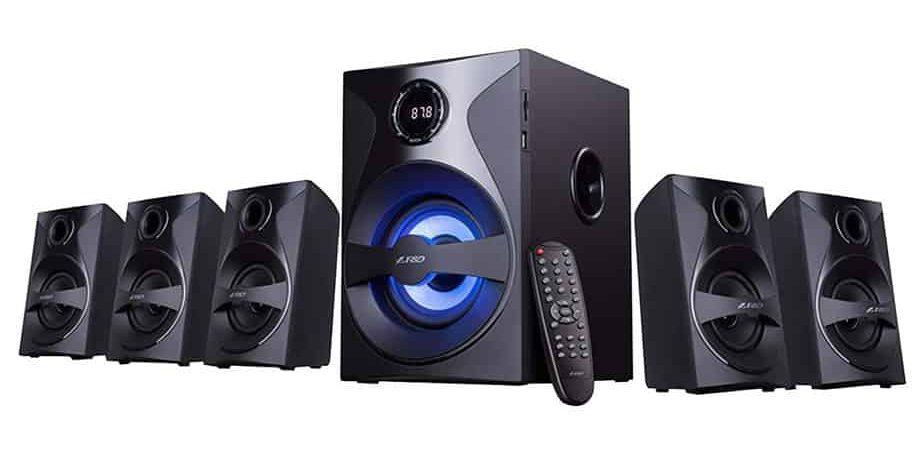 F&D F3800X 80W 5.1 Bluetooth Multimedia Speaker