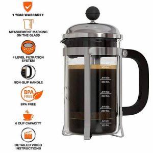InstaCuppa French Press Coffee Maker 600ML