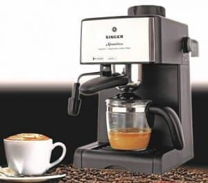 Singer coffee maker machine