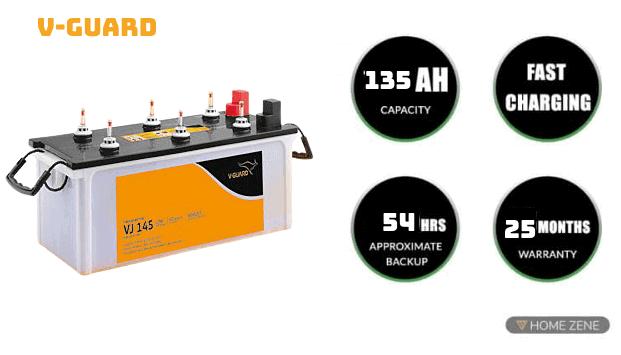 V-Guard Inverter Battery
