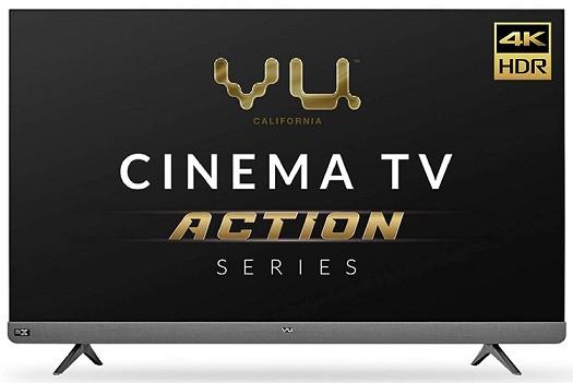 Vu 4K Ultra HD LED Smart Android TV