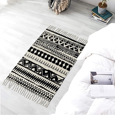 HOKIPO Geometric Carpet