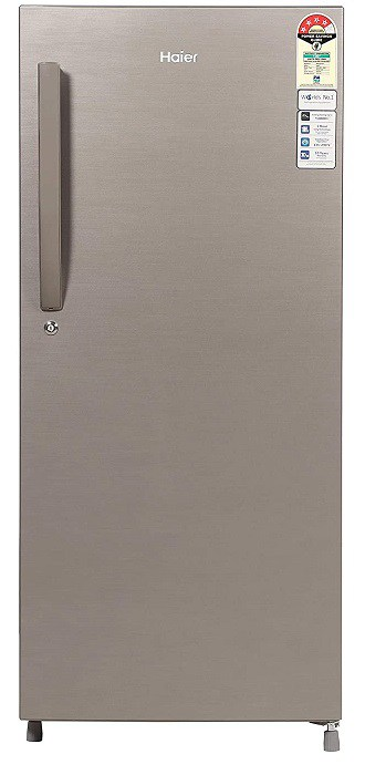 Haier single door refrigerator
