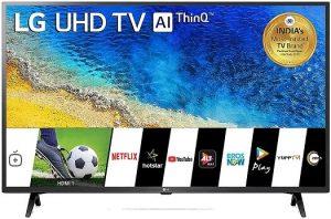 LG 108 cm 43 inches 4K UHD Smart LED TV