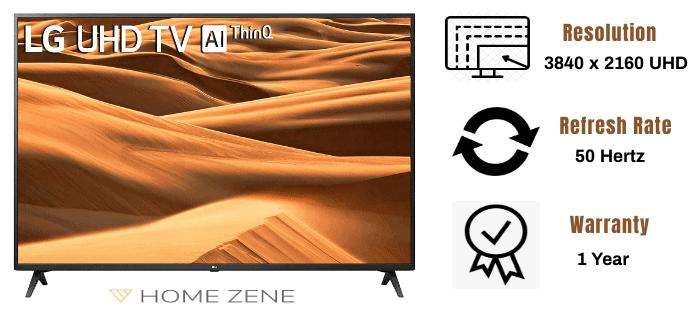 LG 126 cm 50 inches led tv