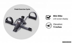 Healthex Digital Pedal Exercise Bike