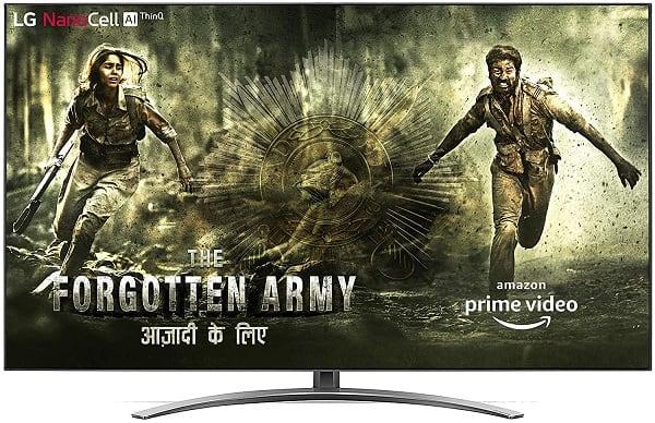 LG 75 inch tv