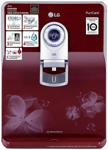 LG RO+ EverFresh water purifier