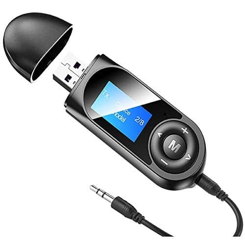 Pagaria 2 in 1 Bluetooth 5.0 Transmitter