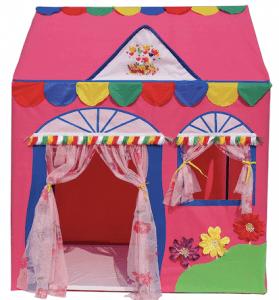 home cut tent