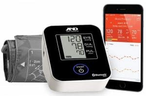 A&D Medical Wireless Blood Pressure Monitor