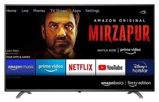 AmazonBasics led tv