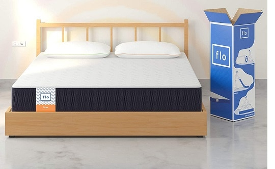FLO Soft Ergo Gel Memory Foam Dual Comfort Mattress