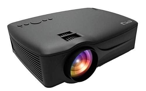 EG 6X Miracast [2021 Upgrade] LED Projector