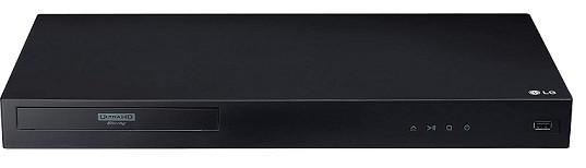 LG 3D Ultra-HD Blu-ray Player