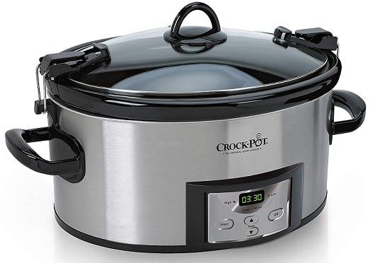 CROCK-POT Stainless Steel Slow Cooker