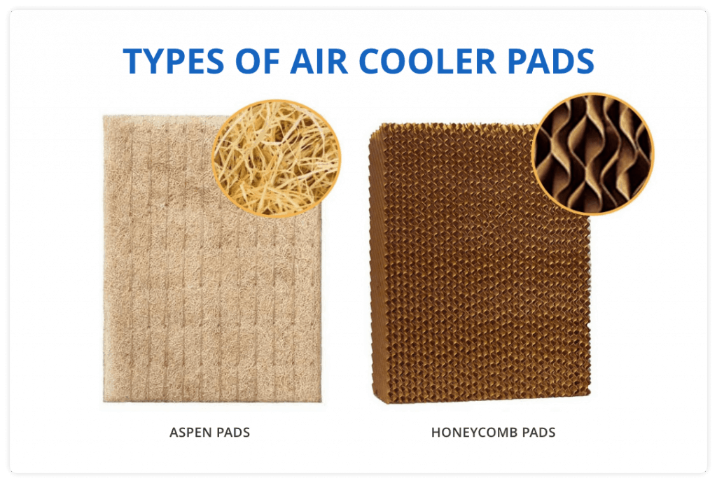 Aspen Wood Wool Cooling Pads and the Honeycomb Cooling Pads