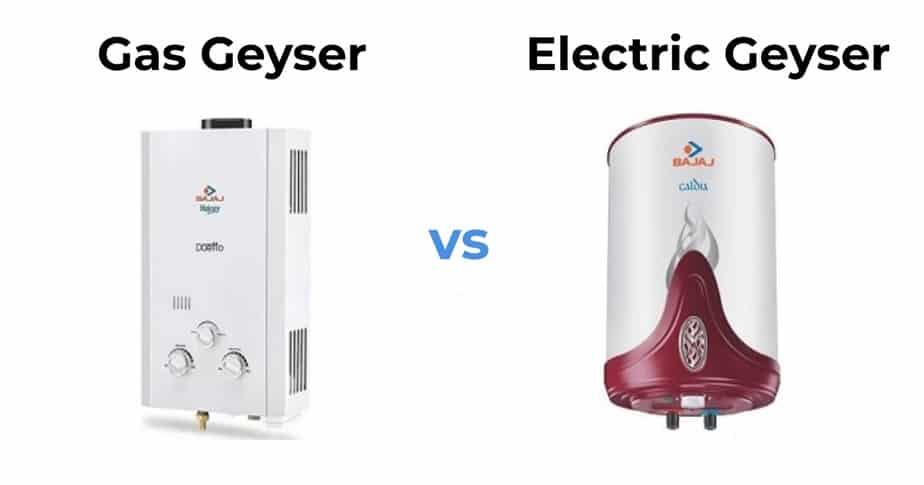 Gas Geyser or an Electric Geyser