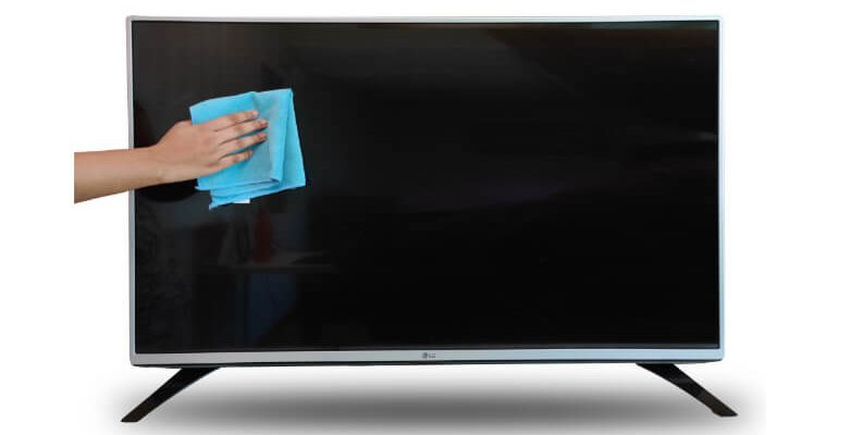 Clean your TV from time to time
