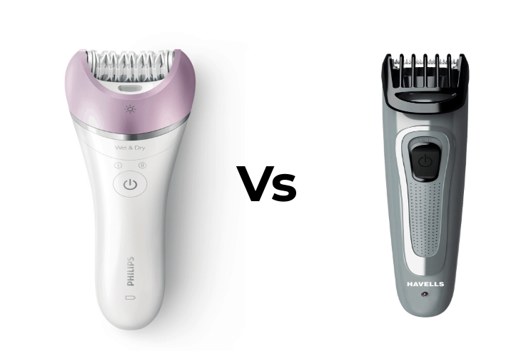 Difference Between Epilator and Trimmer