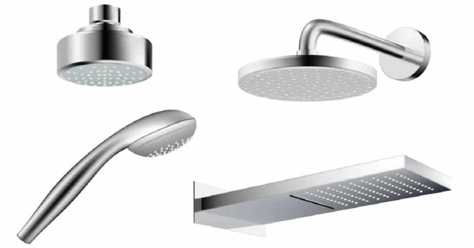 Different Types of Showerheads