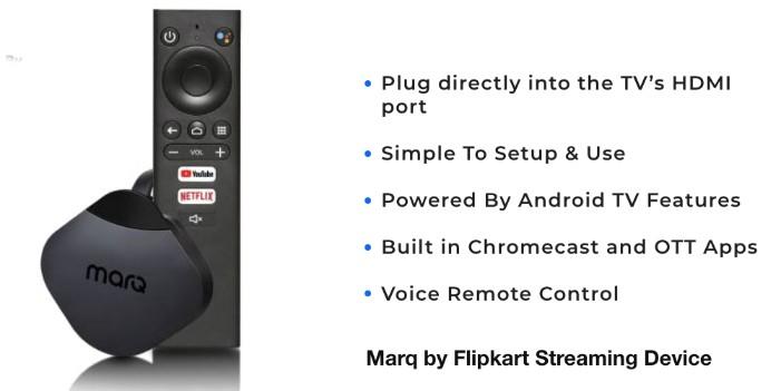 Marq by Flipkart Streaming Device
