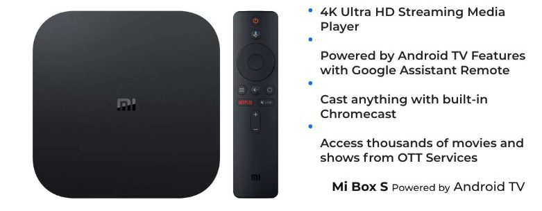 Mi Boxs Powered by Android TV