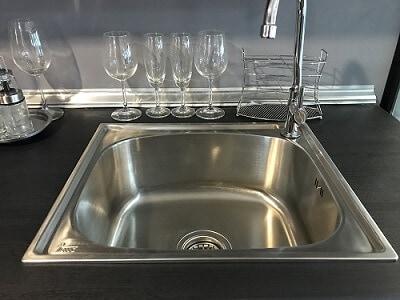 Top-Mount Kitchen Sink