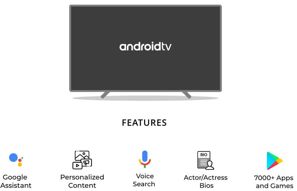 Android TV Special Features