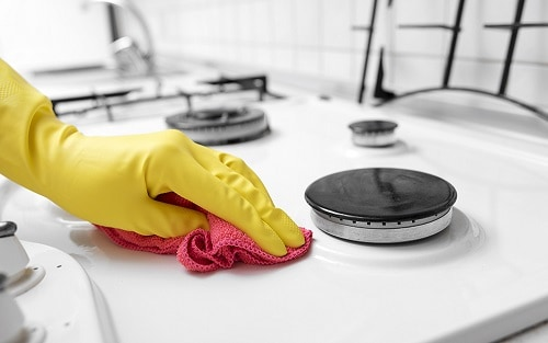 Clean the Stovetop