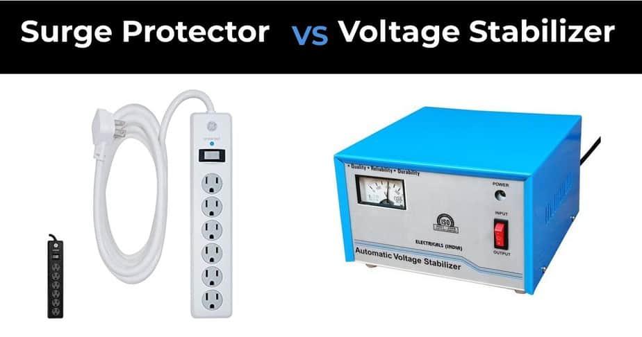 Surge Protector vs Voltage Stabilizer