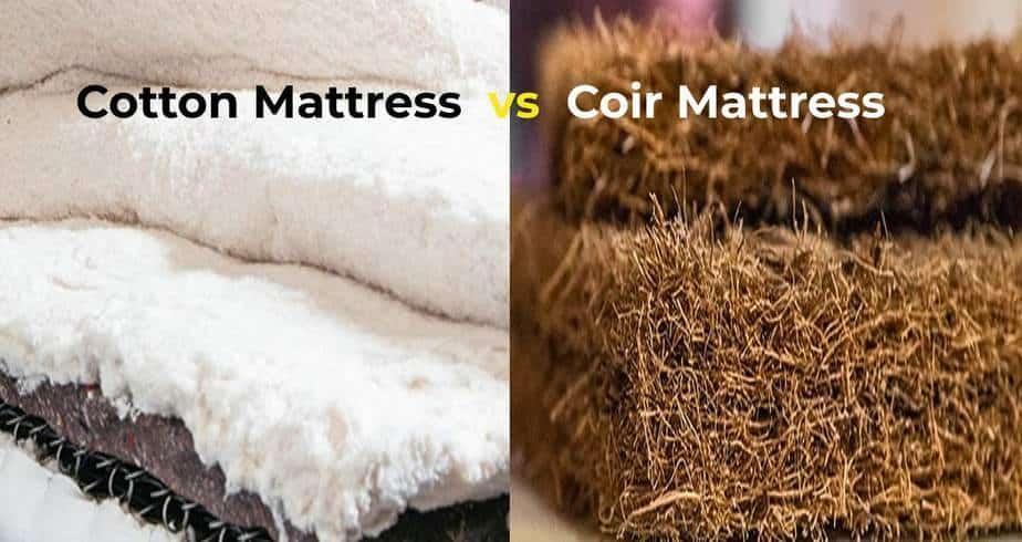 cotton mattress vs Coir Mattress