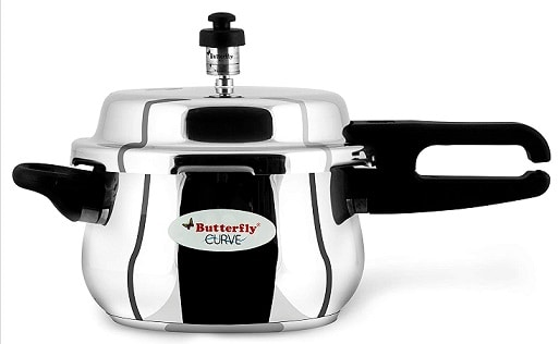 Butterfly Curve Stainless Steel Pressure Cooker