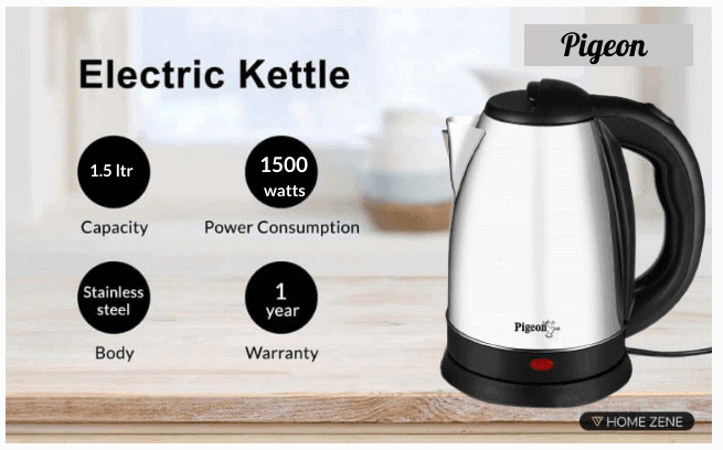 Pigeon By Stovekraft Electric kettle