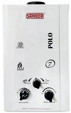 Sameer Instant water heater