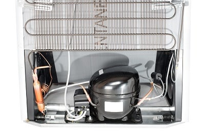 Rear Side Of The Refrigerator