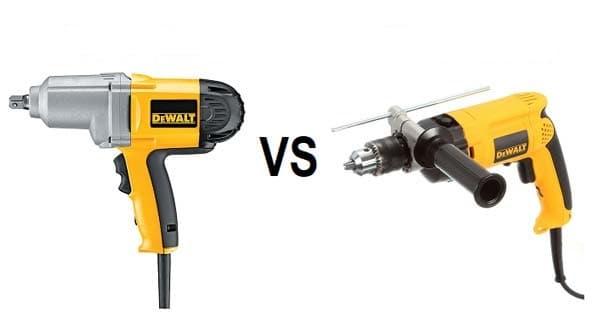 impact vs hammer drill