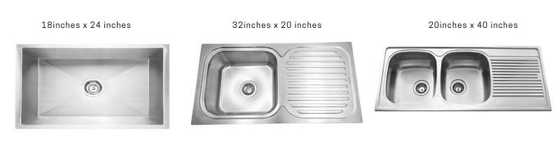 kitchen sink sizes