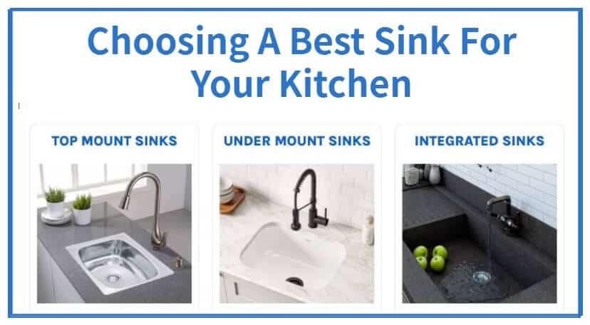 Choosing A Best Sink