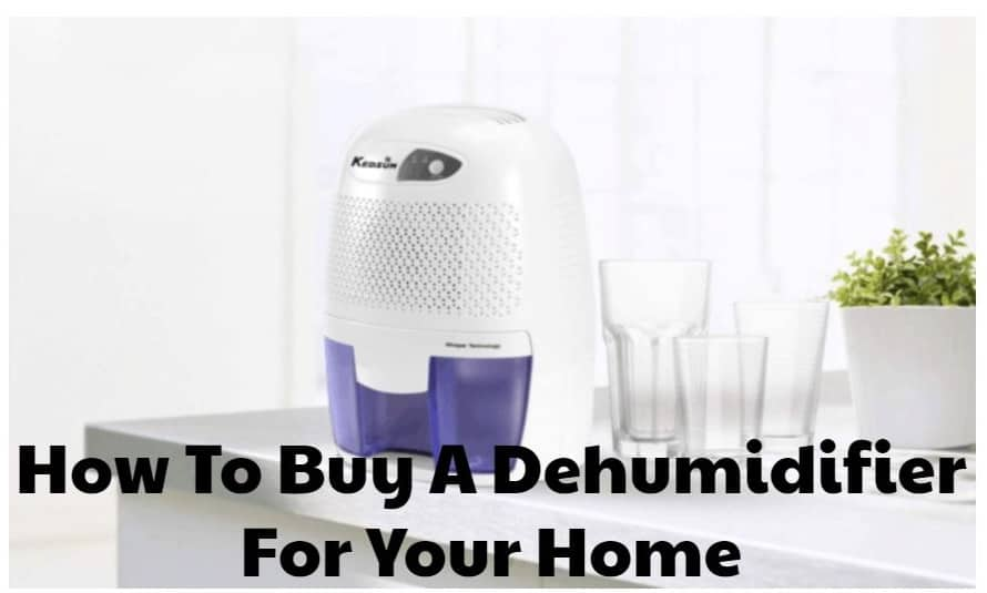 How To Buy A Dehumidifier For Your Home
